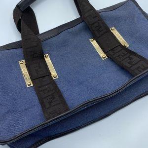 Fendi Bags - Fendi Denim Authentic Satchel bag